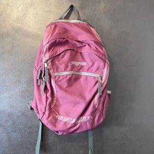 Jansport backpack pink purple color